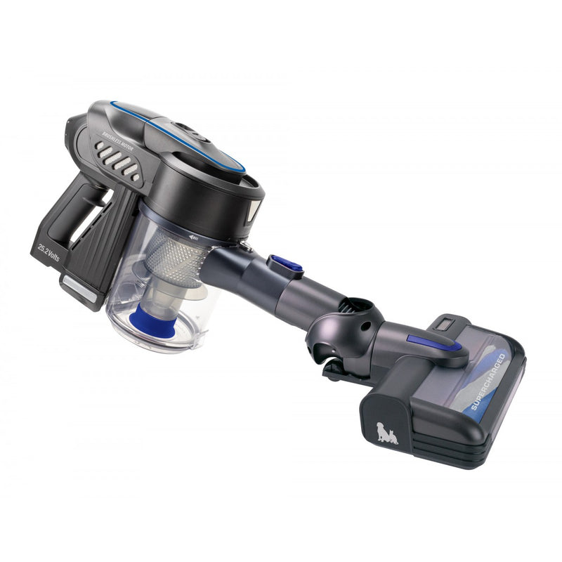 Johnny Vac JV252 Cordless Stick Vacuum - 2 Speeds - Bagless - Charger Included