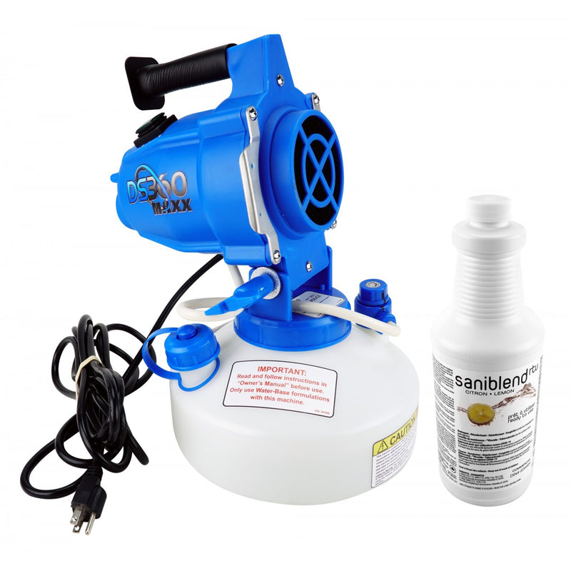 DS360 Electrostatic Sprayer with Cleaner
