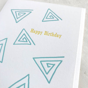 Happy Birthday - Triangles