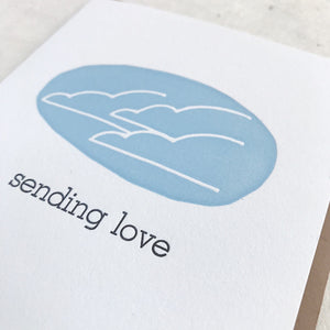 Sending Love - Simple Clouds