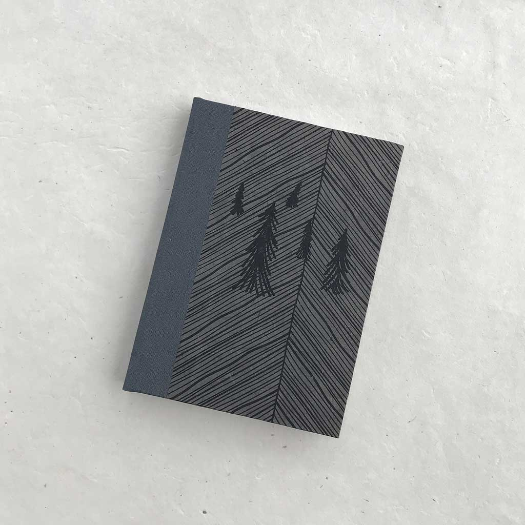 Hardcover Journal - Pine Forest