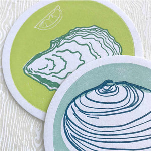 Shellfish Drink Coasters