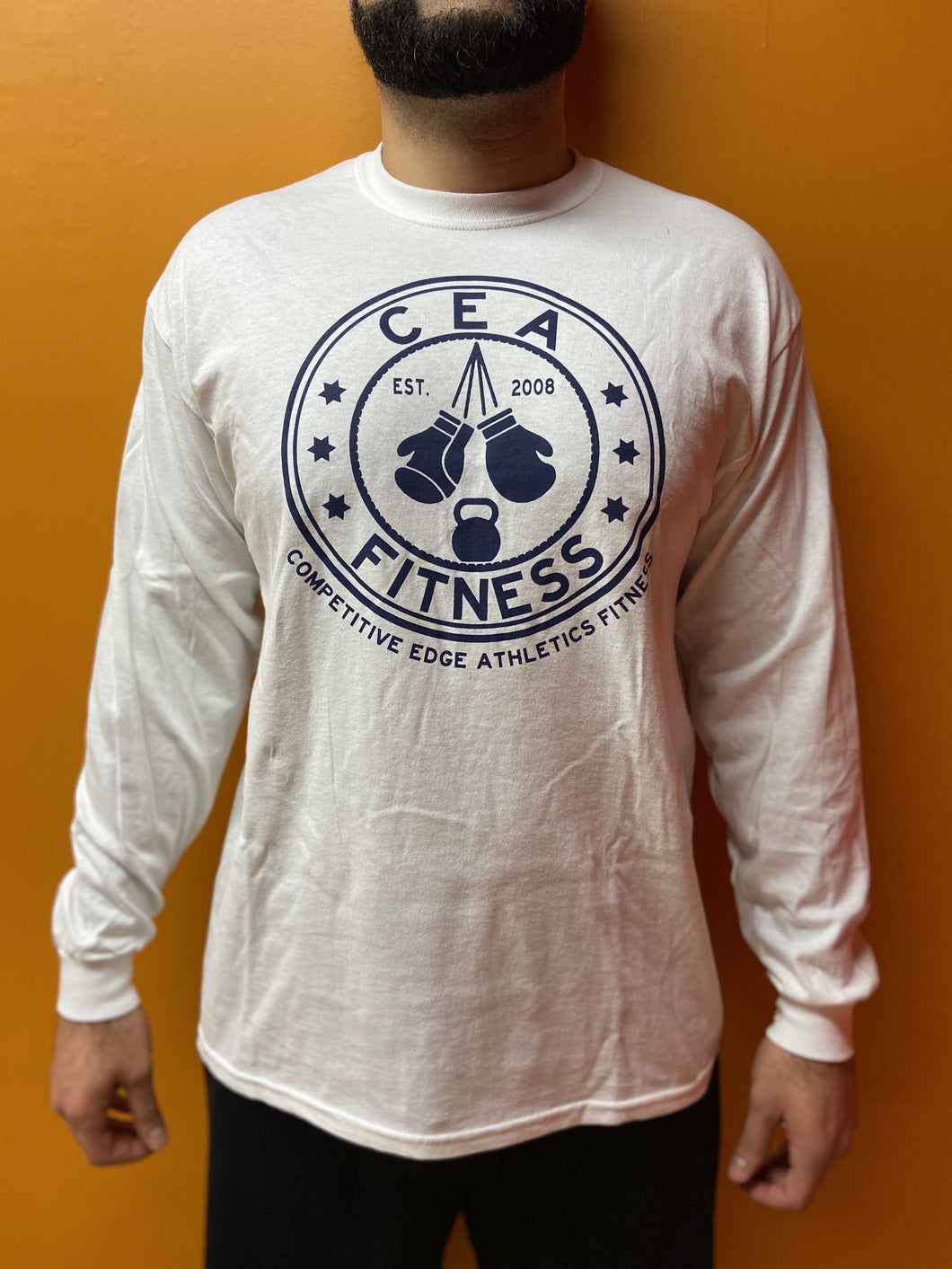 Men's Long Sleeve Logo Shirt