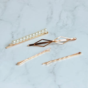 Ashley Hair Clips - Set E