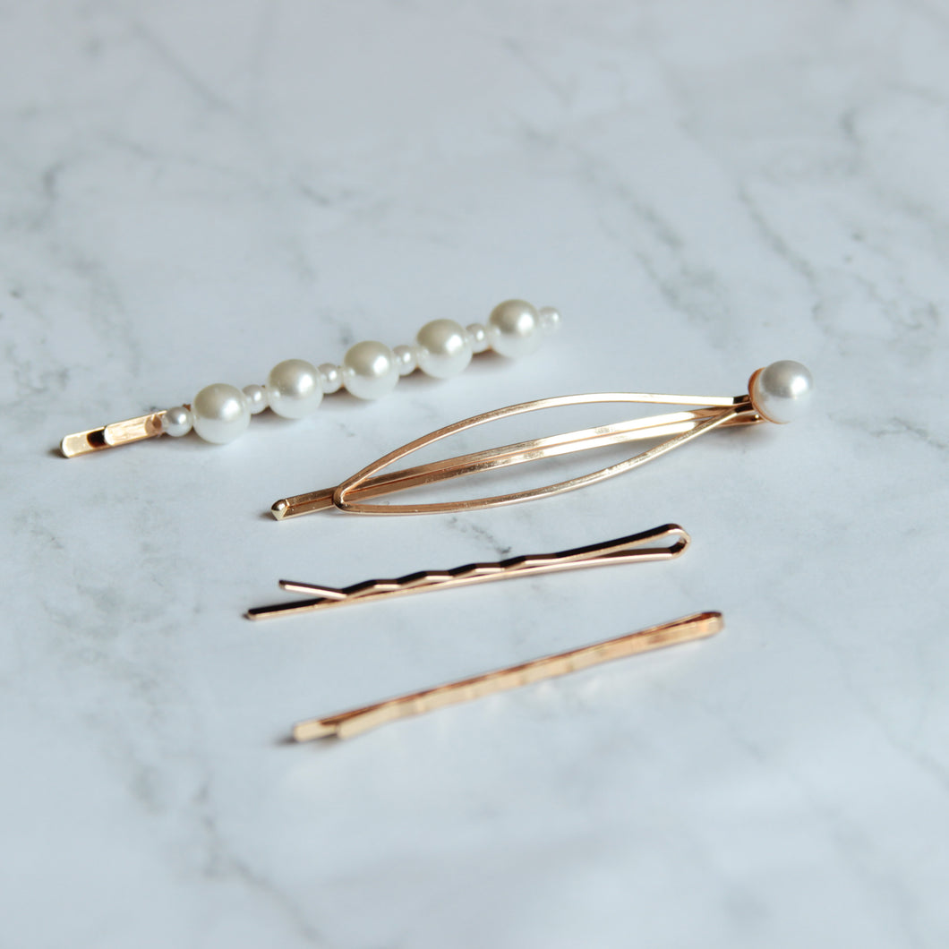 Ashley Hair Clips - Set F