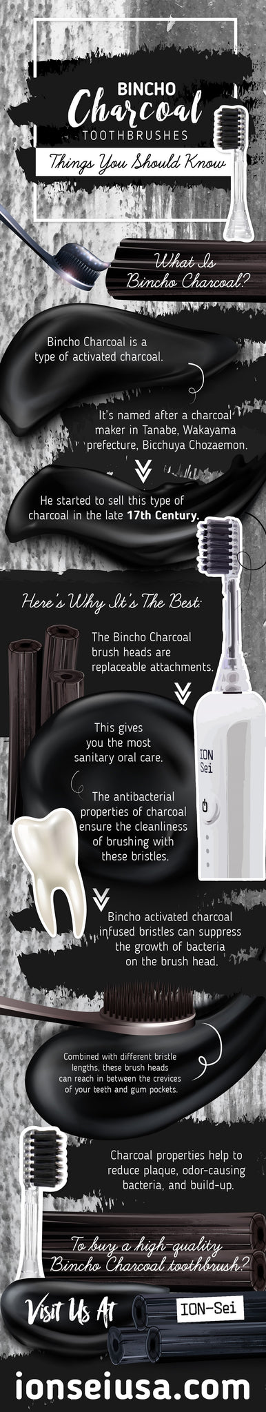 BINCHO Charcoal Toothbrushes things you should know
