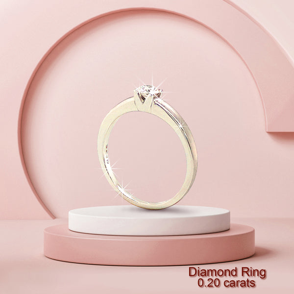 DIAMOND TIFFANY RING