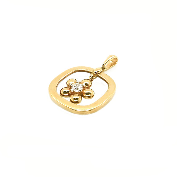 GOLD PENDANT (GP-6876)