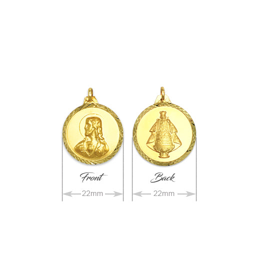 GOLD PENDANT (GP-7589)