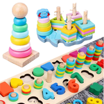 HockeyBeat® Wooden Toys for Babies