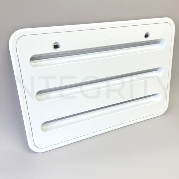 Newmar RV Dometic 3316941.010 3109350.011 Refrigerator Side Vent White 11526