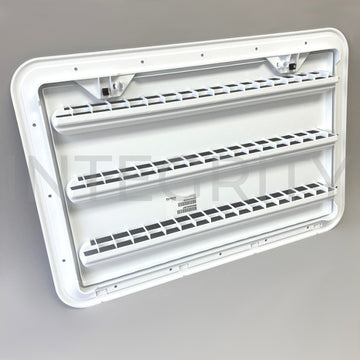 Newmar RV Dometic Refrigerator Side Vent White 11526