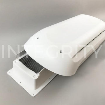 Newmar RV Dometic Refrigerator Roof Vent Base and Cap White 016690