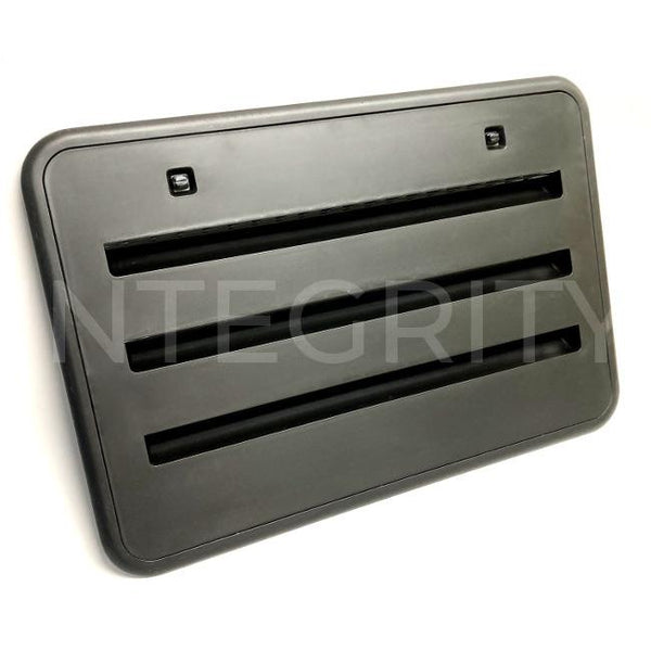 Norcold RV Plastic Side Vent Black 621156BK