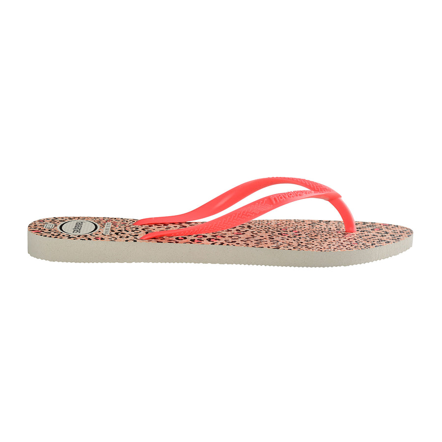 Slim Animals White/Coral
