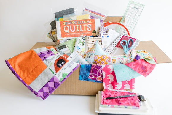 Sewing Crate #3 - Quilts