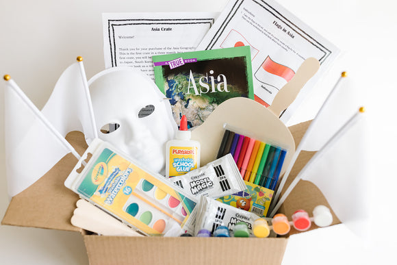 Asia Geography Crate