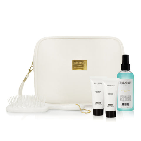 Balmain White Summer Bag Care Collection