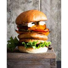 Load image into Gallery viewer, Brioche Burger Buns 2pcs