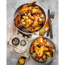 Load image into Gallery viewer, 1kg Piri Piri Wings (Frozen)