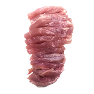1kg Plain Thigh Fillet Sliced