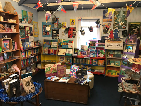 Children's book section