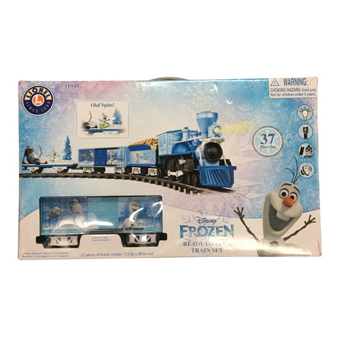 Disney's Frozen Train Set (Lionel). Ready to Play with Remote