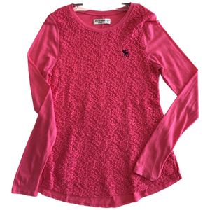 Youth Long Sleeve. 13-14. Abercrombie kids
