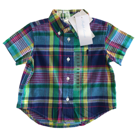 Infant Short Sleeve. 9 Months. Polo Ralph Lauren. NWT