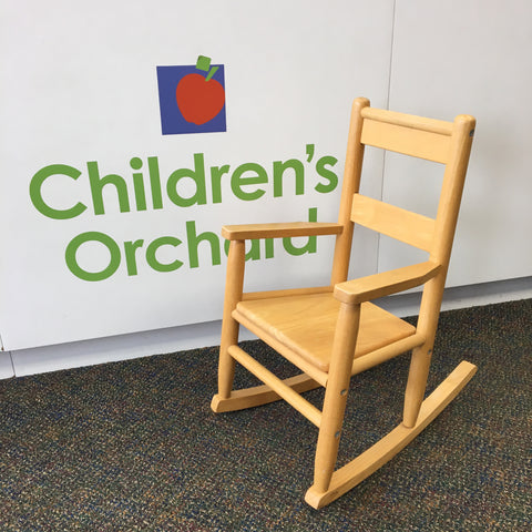 Solid Wood Child's Rocking Chair