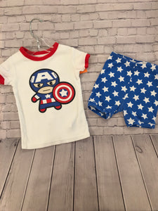 Toddler Pajamas. 3T. Baby Gap. Marvel