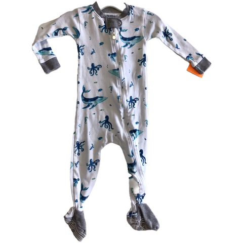Infant Pajamas. 6-9 Months. Burt's Bees