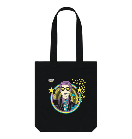 Black LFB Low way out Black tote bag