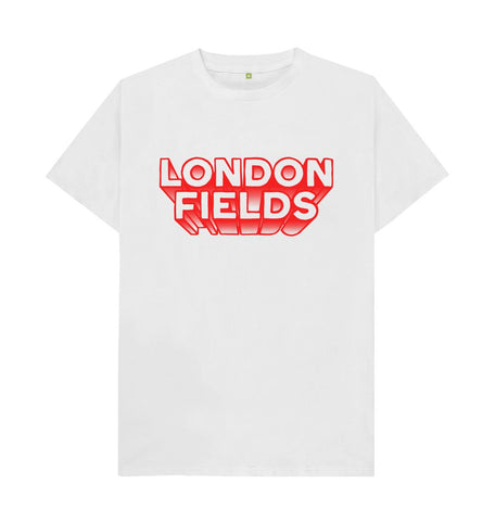 White London Fields Logo White