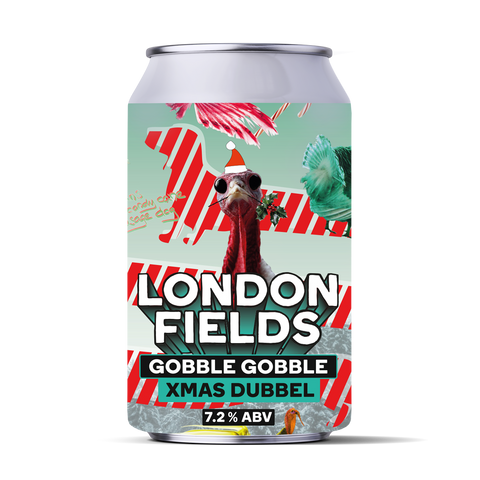 Gobble Gobble Dubbel beer can