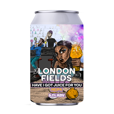 Have I got Juice New England IPA Beer Can