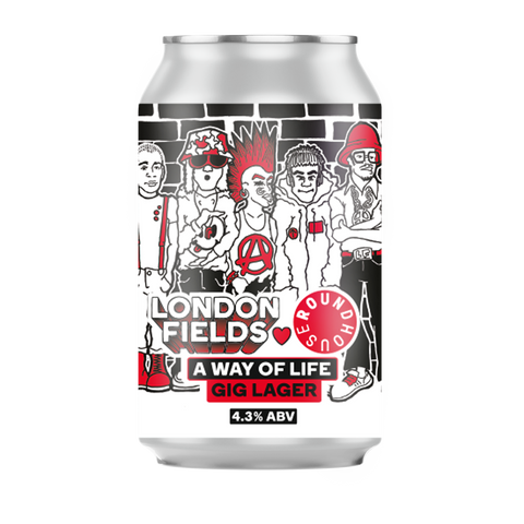 Helles Gig Lager Beer Can