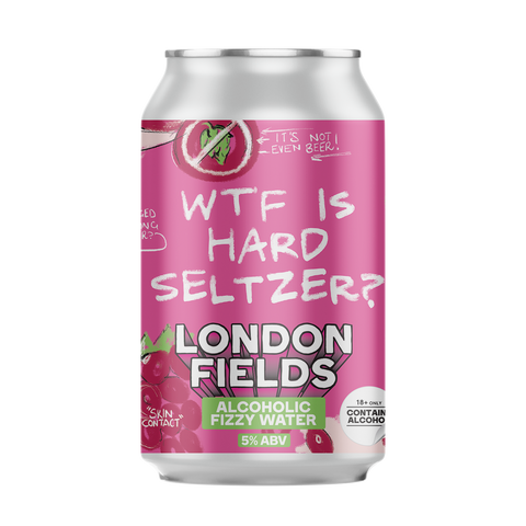 WTF is Hard Seltzer? ALCOHOLIC FIZZY WATER 5%