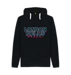 London Fields Neon Hoodie Black