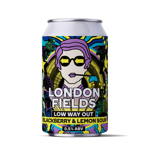 Low way out Alcohol Free sour beer ccan