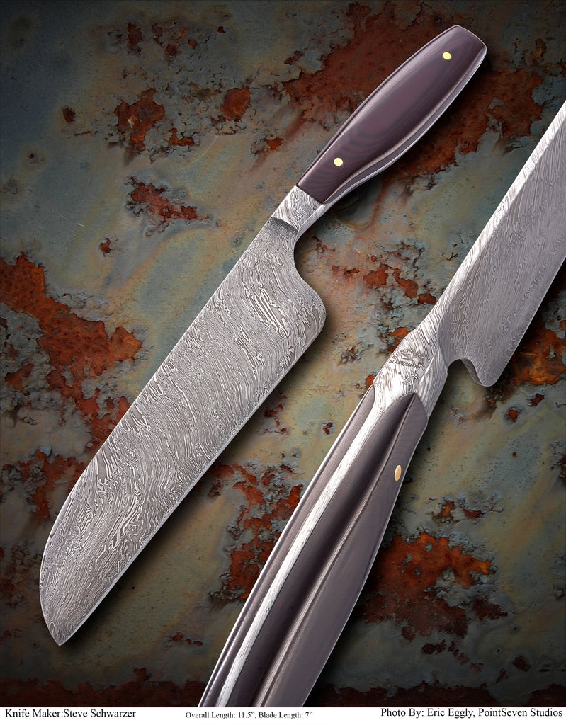 Integral chef knife