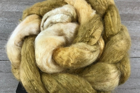 Pearl Fiber Combed Top - Doubloon - In Stock