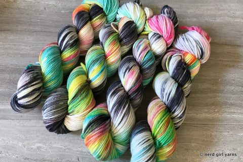 Atomic Pageantry - Tesseract Worsted - In Stock