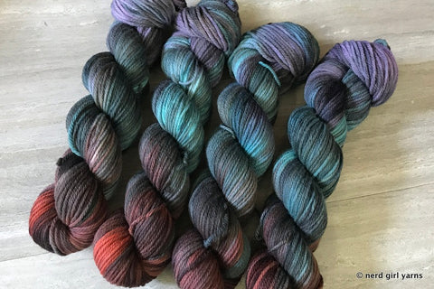 She Will be Victorious - Tesseract Worsted - In Stock