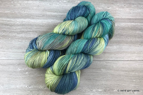 Scribble Scrubs Scooters - Mutiny 150g Shawl Skein In Stock