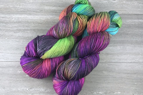 Dabbling in Anarchy - Mutiny 150g Shawl Skein In Stock