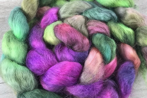 Dabbling in Anarchy - Wensleydale Wool Combed Top In Stock