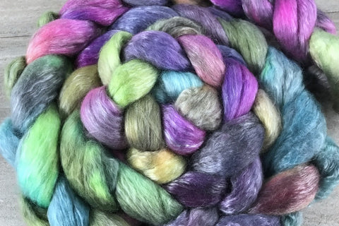 Dabbling in Anarchy - Merino/Tencel 50/50 Combed Top In Stock