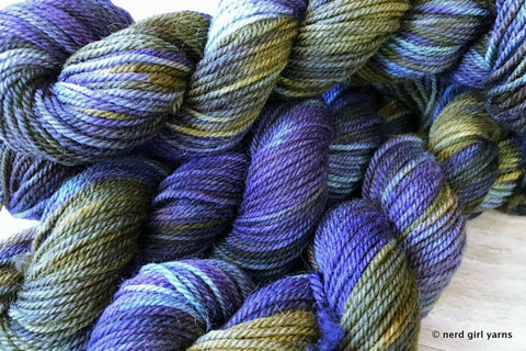 SW Cheviot Aran Special Base/Color Run - In Stock