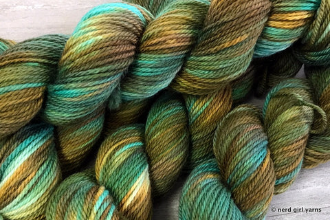 SW Merino Aran Special Base/Color Run - In Stock